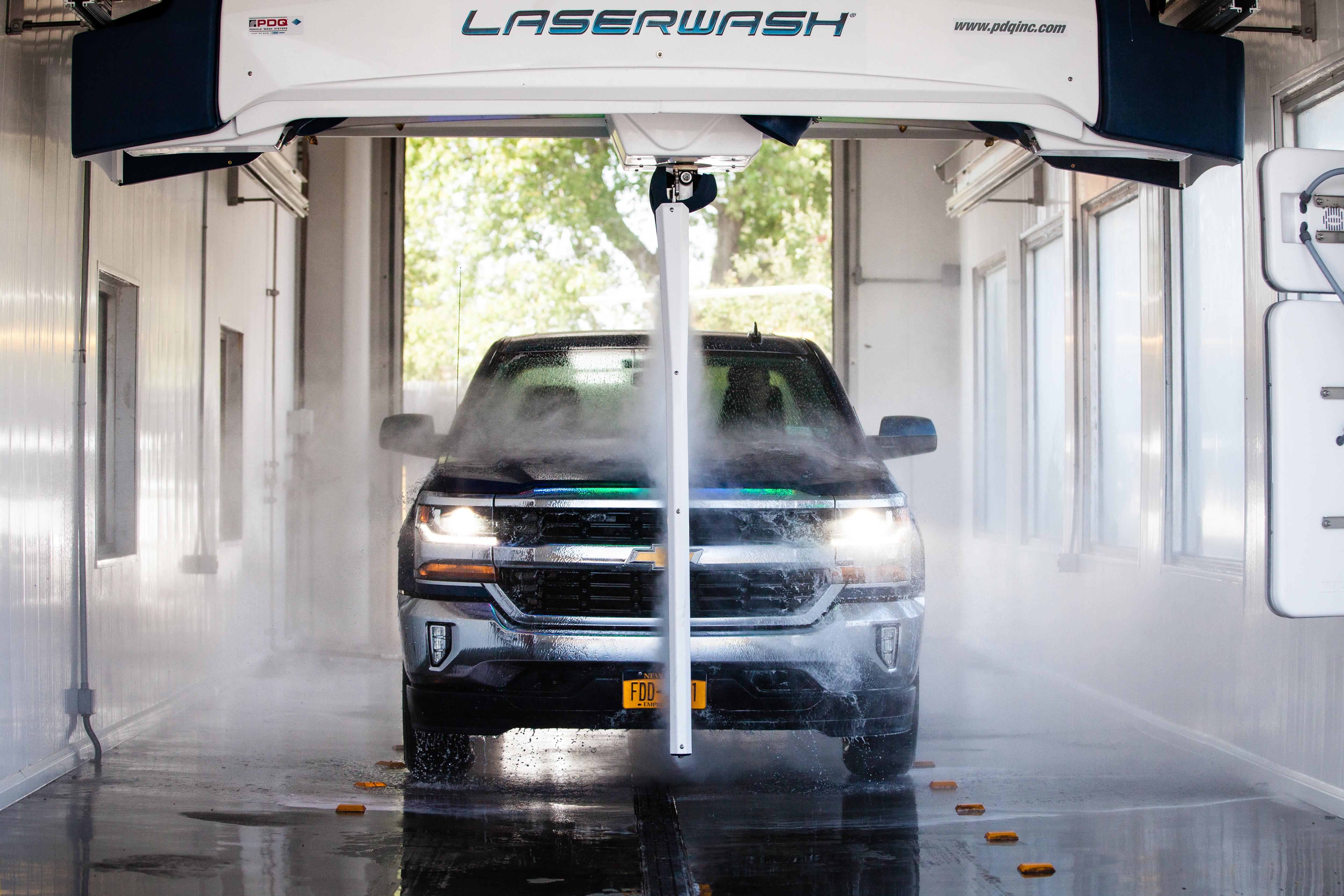 Touch Free Car Wash - Rusiniak's Service